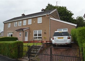 Thumbnail 3 bed semi-detached house for sale in Hobart Crescent, Clydebank