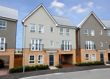 "Thumbnail 5 bed detached house for sale in ""Taunton"" at Countess Way, Broughton, Milton Keynes"