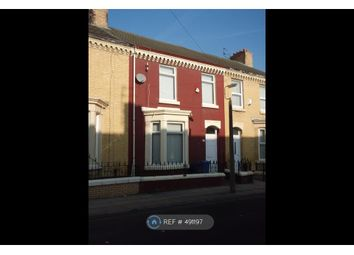Thumbnail 3 bed terraced house to rent in Valley Road, Liverpool