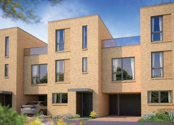 "Thumbnail 4 bed terraced house for sale in ""The Johnson"" at Reed Close, Trumpington, Cambridge"