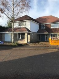 Thumbnail 5 bed detached house for sale in Vicarage Avenue, Egham