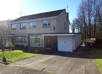 Thumbnail 3 bed semi-detached house for sale in Woodside Road, Tullibody, Alloa