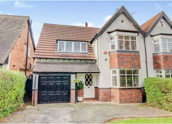 Thumbnail 4 bed semi-detached house for sale in Goldieslie Road, Sutton Coldfield