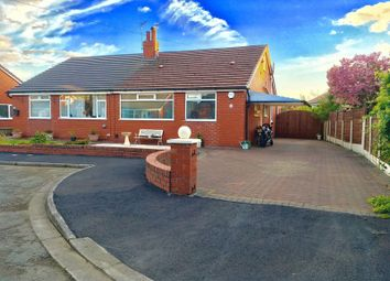 Thumbnail Semi-detached house for sale in Carlton Close, Walkden, Manchester