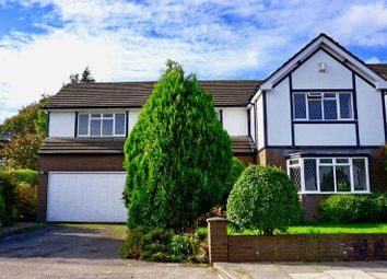 Thumbnail 4 bedroom detached house for sale in Acrefield Park, Woolton, Liverpool