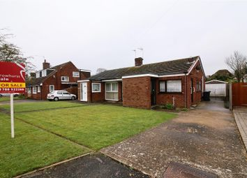 Thumbnail 3 bed semi-detached bungalow for sale in Beswick Gardens, Bilton, Rugby