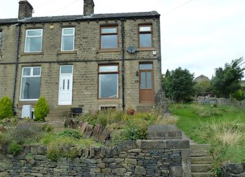 Thumbnail 3 bed end terrace house for sale in Radcliffe Road, Wellhouse, Huddersfield