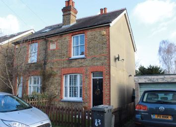 Thumbnail 3 bed semi-detached house to rent in Harvest Road, Englefield Green, Egham