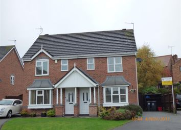 Thumbnail 3 bed semi-detached house for sale in Hackett Close, Ashby-De-La-Zouch