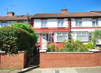 Thumbnail 3 bed terraced house for sale in Norwood Avenue, Wembley, Middlesex