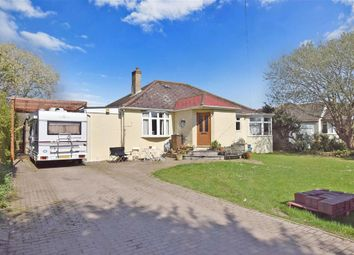 Thumbnail 4 bed detached bungalow for sale in Park Lane, Selsey, Chichester, West Sussex