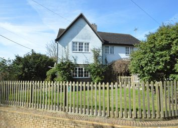 Thumbnail 4 bedroom detached house for sale in West Wickham Road, Horseheath, Cambridge
