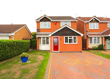 Thumbnail 3 bed detached house for sale in Teal Close, Leicester Forest East, Leicester