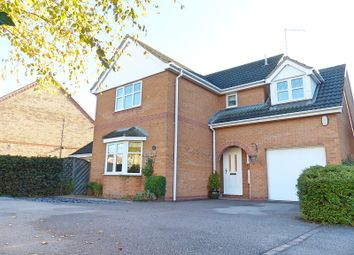 Thumbnail 4 bed detached house for sale in Ferndale, Yaxley, Peterborough