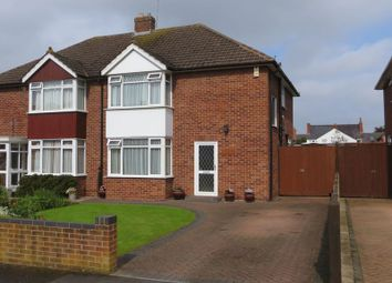 Thumbnail 3 bed semi-detached house for sale in Foxwell Drive, Hucclecote, Gloucester