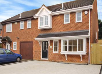 Thumbnail 3 bed property to rent in Morland Drive, Rochester, Kent