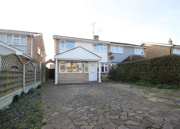 Thumbnail 4 bed semi-detached house for sale in Seamore Avenue, Benfleet