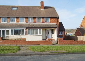 Thumbnail 3 bed semi-detached house for sale in Ridding Road, Esh Winning, Durham