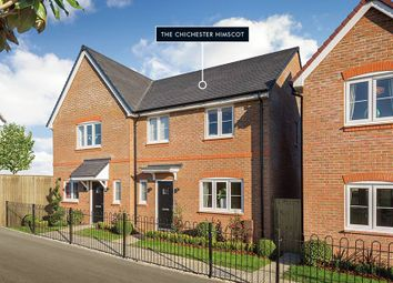 "Thumbnail 3 bed semi-detached house for sale in ""The Chichester Himscot"" at Shopwhyke Road, Chichester"
