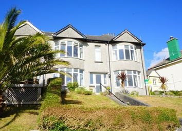 Thumbnail 3 bed semi-detached house for sale in Pentewan, St. Austell, Cornwall