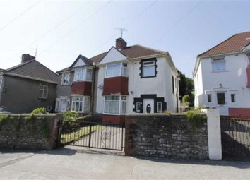 Thumbnail 4 bed semi-detached house for sale in Vivian Road, Swansea