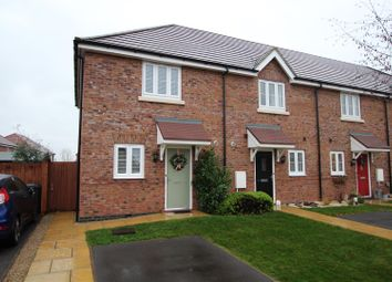 Thumbnail 2 bed town house for sale in Clayton Gardens, Hatton, Derby