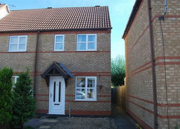 Thumbnail 2 bed semi-detached house to rent in Primrose Close, Morton, Bourne, Lincolnshire