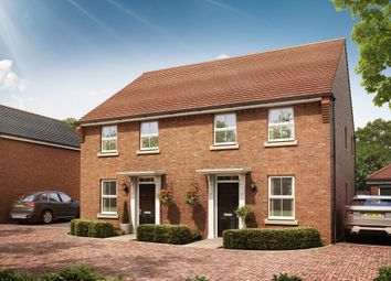 """Thumbnail 3 bed semi-detached house for sale in """"Ashurst"""" at Pyle Hill, Newbury"""