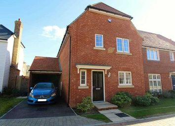 Thumbnail 3 bed detached house for sale in Goldfinch Drive, Ashford