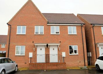 Thumbnail 3 bed semi-detached house for sale in Buttercup Close, Gaywood, King's Lynn