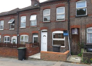 Thumbnail 2 bed terraced house for sale in Dallow Road, Luton
