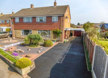 Thumbnail 3 bed semi-detached house for sale in Jasmine Road, Great Bridgeford, Stafford
