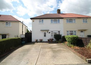 Thumbnail 3 bed semi-detached house for sale in Layton Crescent, Waddon, Croydon