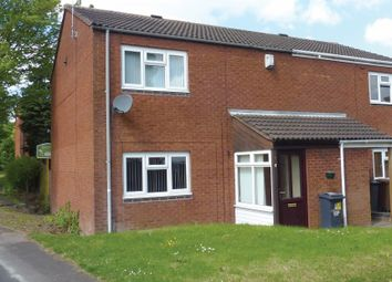 Thumbnail 2 bed town house for sale in Star Close, Walsall, West Midlands