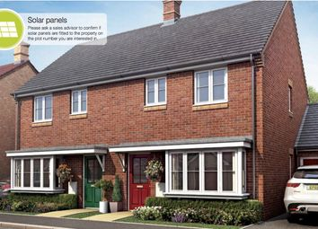Thumbnail 3 bed semi-detached house for sale in Whitecross, Coates Road, Eastrea, Whittlesey, Peterborough