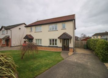 Thumbnail 3 bed semi-detached house for sale in Ballatessan Meadow, Peel, Isle Of Man