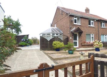 Thumbnail 2 bed semi-detached house to rent in Chapel Garth, Arram, Beverley