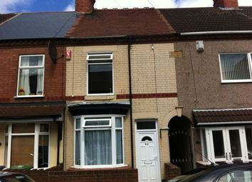 Thumbnail 2 bed property to rent in Cheverel Street, Nuneaton