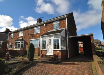 Thumbnail 3 bed semi-detached house for sale in York Villas, Spennymoor