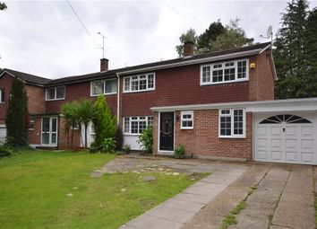 Thumbnail 3 bedroom semi-detached house for sale in Upper Chobham Road, Camberley, Surrey