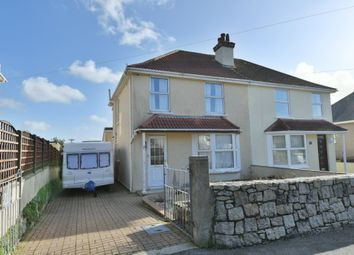 3 bed semi-detached house for sale in Polwithen Road, Falmouth TR11
