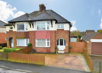 Thumbnail 3 bed semi-detached house for sale in Streather Drive, Corby, Northamptonshire