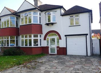 Thumbnail 4 bed semi-detached house to rent in The Avenue, West Wickham