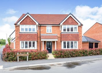 Thumbnail 5 bed detached house for sale in Welford Close, Steeple Claydon, Buckingham