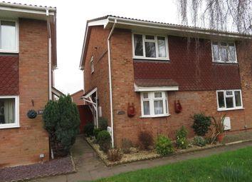 Thumbnail 2 bedroom semi-detached house to rent in Epsom Walk, Bobblestock, Hereford