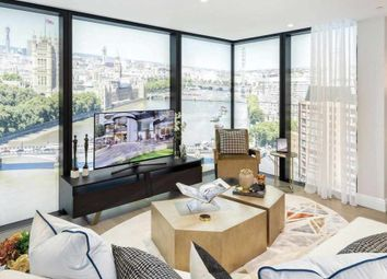 Thumbnail 1 bed flat for sale in Albert Embankment, London, Greater London