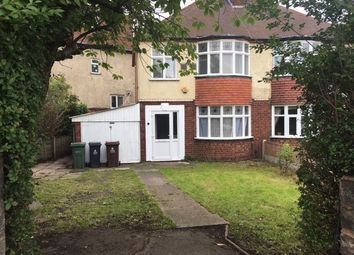 Thumbnail 3 bedroom semi-detached house to rent in Bentley Road North, Walsall