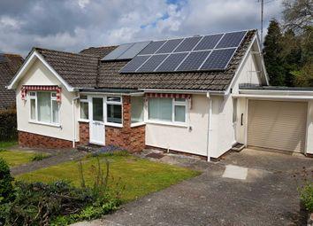 Thumbnail 2 bedroom detached bungalow for sale in Westaway Road, Colyton, Devon