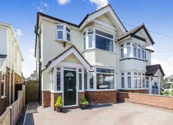 Thumbnail 3 bedroom semi-detached house for sale in Treeside Road, Shirley, Southampton