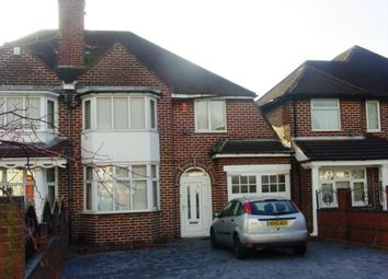 Thumbnail 4 bed semi-detached house to rent in Cliveden Avenue, Birmingham